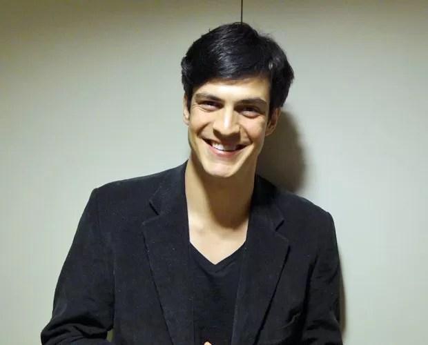 Mateus Solano (Foto: Domingão do Faustão / TV Globo)