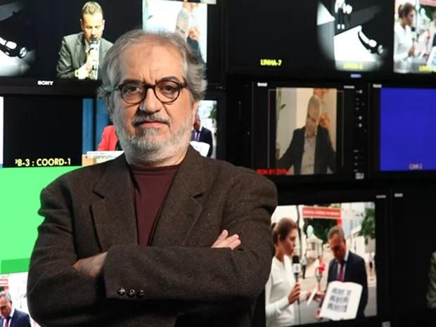 Geneton Moraes Neto brilhou por 40 anos no jornalismo (Foto: Globo/Divulgação)