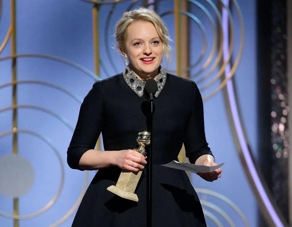 elisabeth moss - Confira os vencedores do Globo de Ouro de 2018