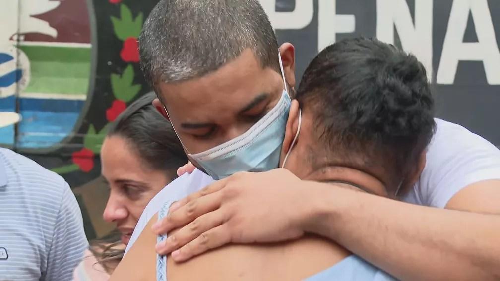 Cientista de dados preso injustamente, Raoni Láxaro deixa a cadeia — Foto: Reprodução/TV Globo