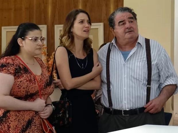 Família fica devastada após saber sobre situação delicada de Gustavo (Foto: Paula Paiva/Gshow)
