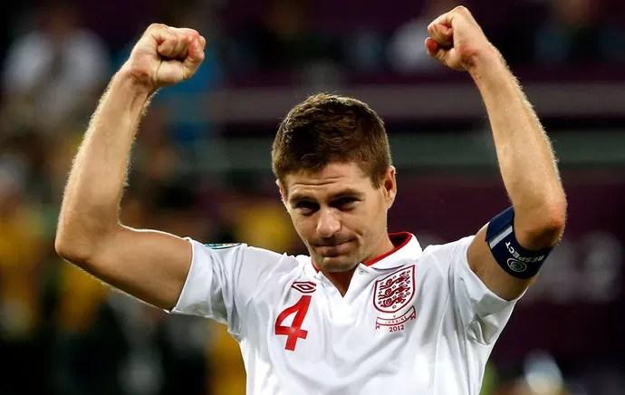 Gerrard - Inglaterra (Foto: reuters)