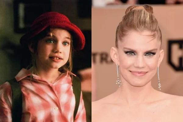 Anna Chlumsky em 1991 e atualmente (Foto: Divulgação)