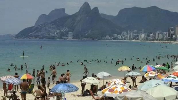 Rio de Janeiro tem registrado recordes de temperaturas verão após verão (Foto: Fernanda Carvalho / Fotos Públicas)