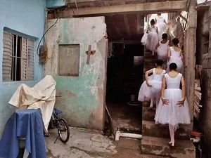 Ballet Paraisópolis (Foto: Alex Almeida/Divulgação)