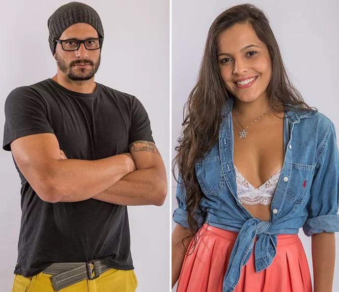 Daniel e Emilly disputam o nono Paredão do BBB17 (Foto: Artur Meninea/Gshow)