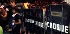 VITÓRIA:  Tropa usa gás contra protesto (Leandro Nossa/ G1ES)