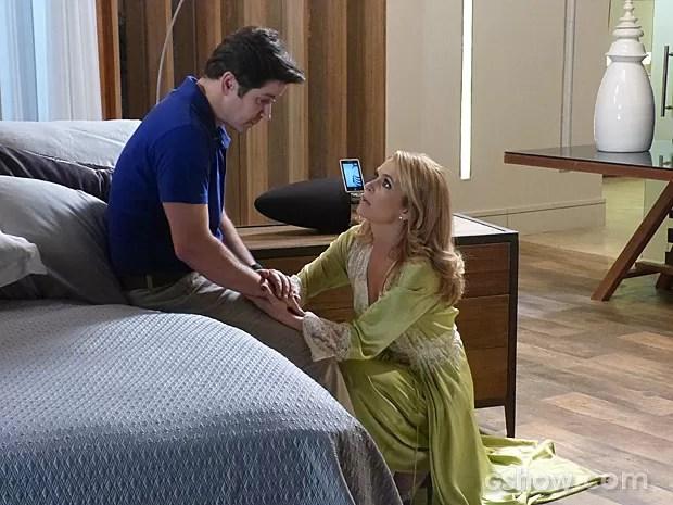 Pamela descobre que Jonas tem um aneurisma cerebral (Foto: Geração Brasil / TV Globo)