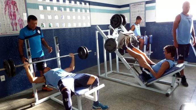 Confiança, treino, sabino ribeiro (Foto: Bruno Albuquerque /ADC)