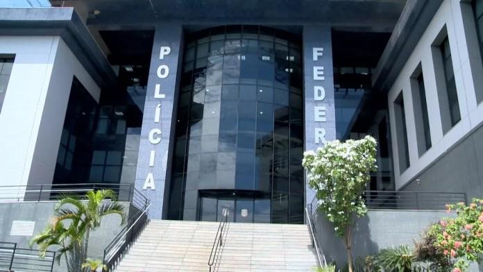 Sede da Polícia Federal no Espírito Santo — Foto: Ari Melo/ TV Gazeta