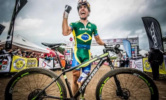 Henrique Avancini, brasileiro com melhor colocação no ranking mundial de mountain bike, estará na Olimpíada do Rio