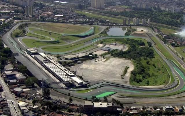 Autoódromo de Interlagos, na Zona Sul de São Paulo (Foto: TV Globo/Reprodução)