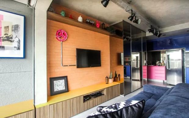Apartamento loft Brooklin  (Foto: André Laize/divulgação)