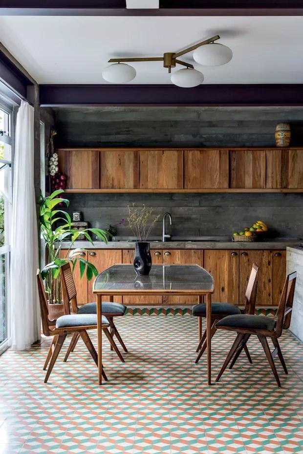 Decorao de cozinhas com madeira 12 ambientes