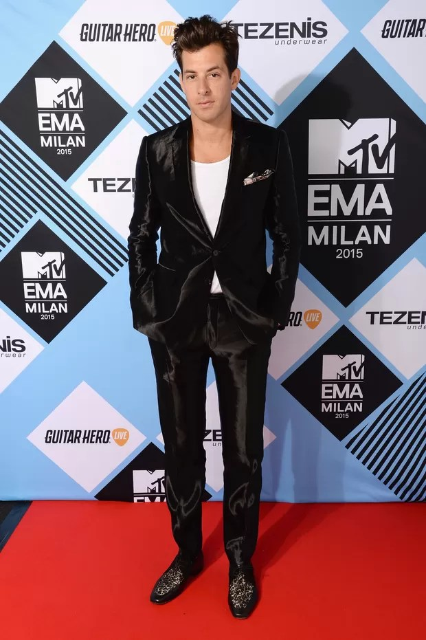 Mark Ronson no MTV EMA 2015 (Foto: Getty Images)