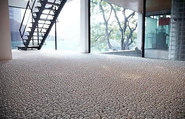 As caveiras são de porcelana (Foto: Divulgação)