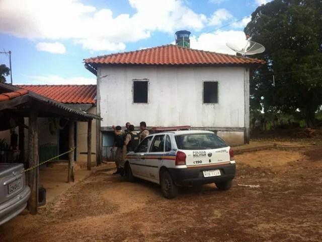 Assalto Fazenda JP (Foto: Reprodução/ Polícia Militar)