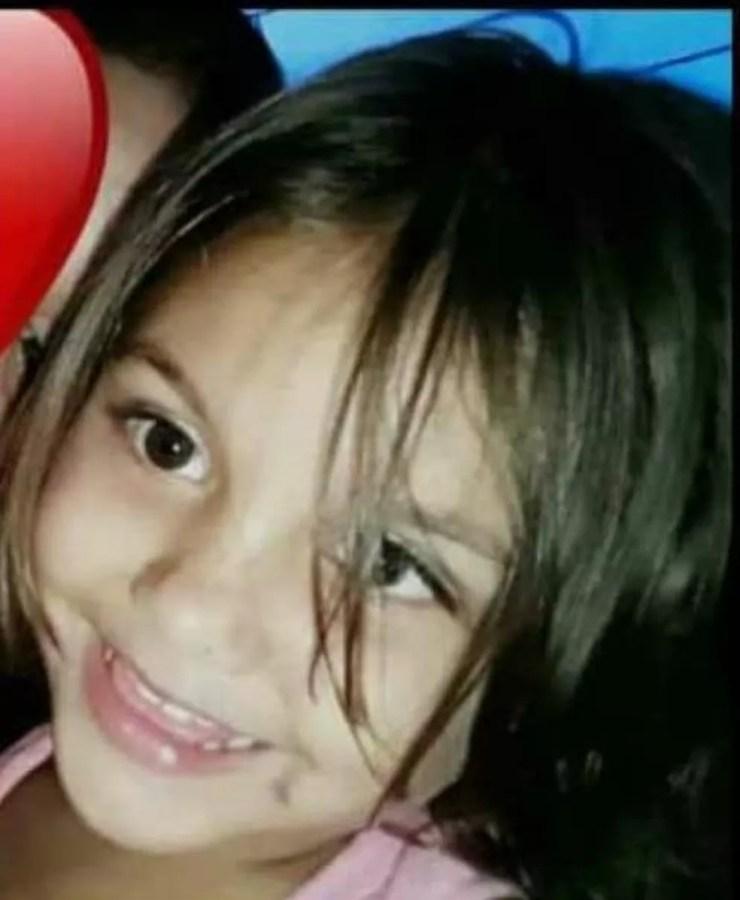 Rebeca Vitória Santos, de 4 anos, foi morta no dia 21 de setembro de 2018 no Conjunto Habitacional Vila Bete — Foto: Arquivo pessoal