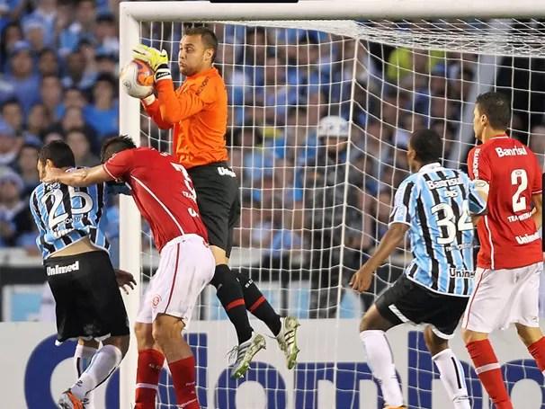 No Campeonato Gaúcho, Internacional e Grêmio se enfrentam (Foto: Jefferson Bernardes / VIPCOMM)