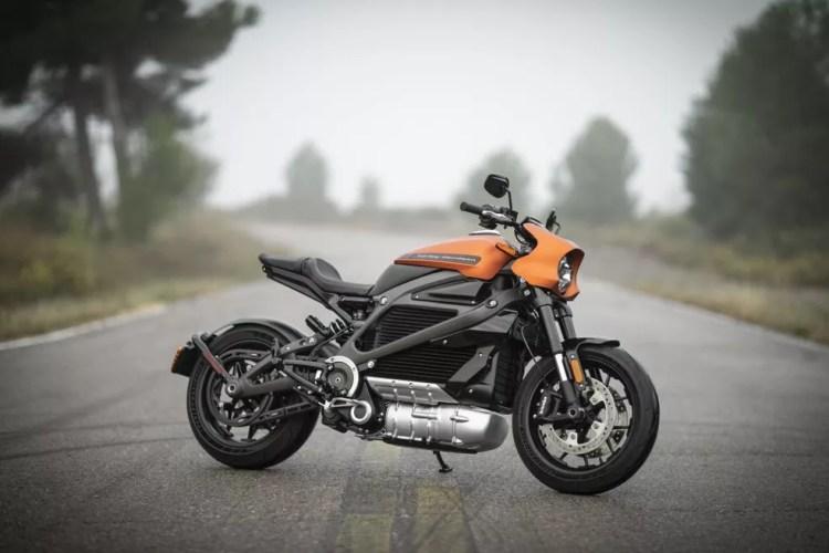 Harley-Davidson LiveWire é a primeira moto elétrica da marca — Foto: Divulgação/Harley Davidson