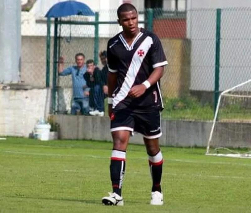 Alan Júnior Pereira Alves atuou pelo sub-23 do Vasco (Foto: Arquivo Pessoal)