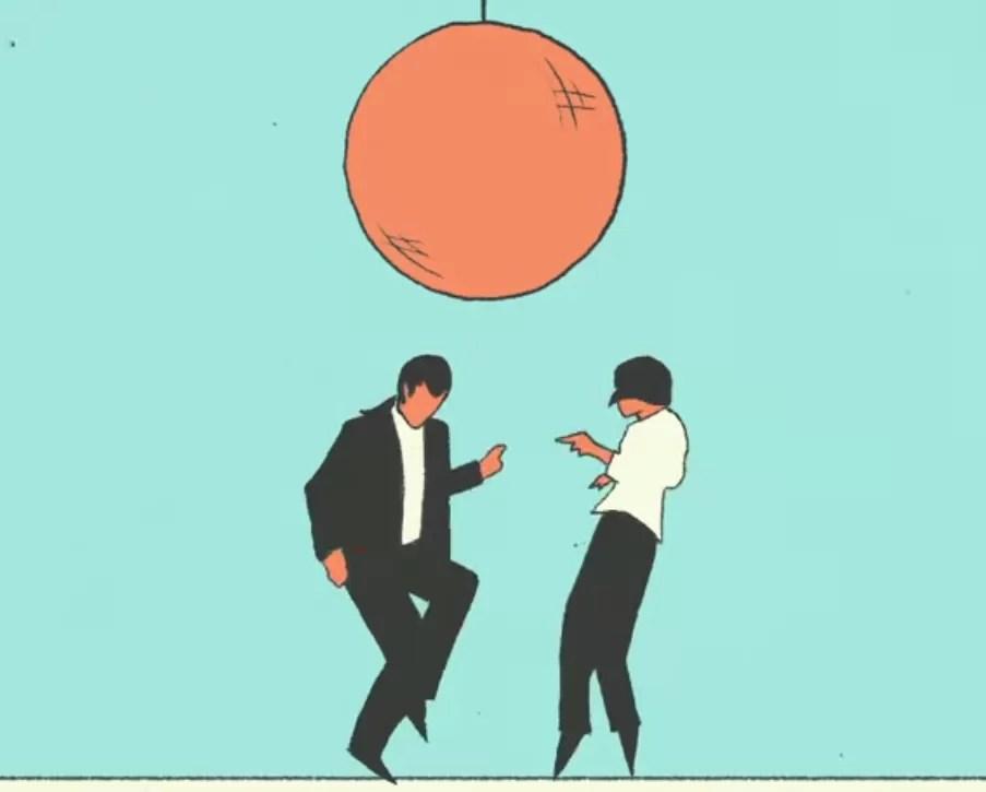 Pulp Fiction e muitos outros em animação incrível (Foto: Reprodução)