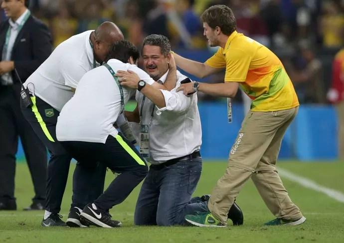Micale Brasil x Alemanha (Foto: Reuters)