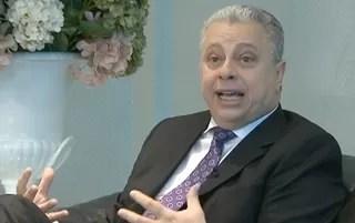 Jorge Rabello é Presidente da Comissão de Arbitragem da Federação de Futebol do Rio (Foto: Reprodução SporTV)