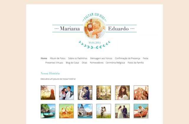 Álbum pode incluir fotos de ensaios ou da cerimônia — Foto: Divulgação/iCasei