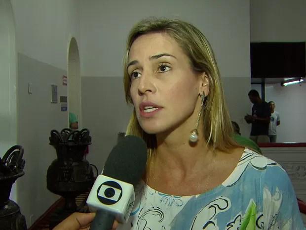 Vereadora Isabella de Roldão (PDT). (Foto: Reprodução/TV Globo)