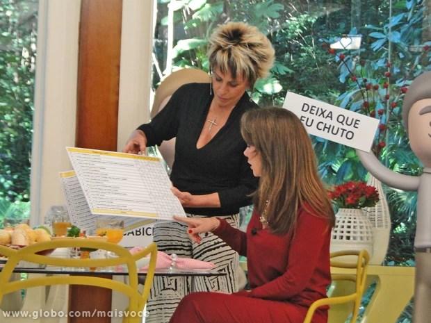 Especialista explica para Ana Maria a formação da primeira impressão (Foto: Mais Você / TV Globo)