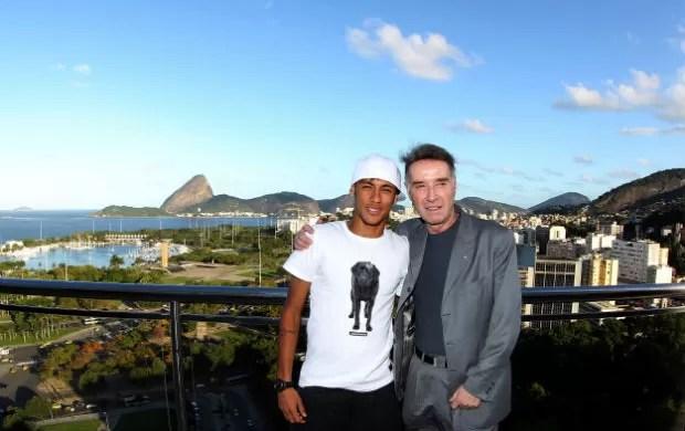 Neymar e Eike Batista (Foto: Agif/Divulgação)