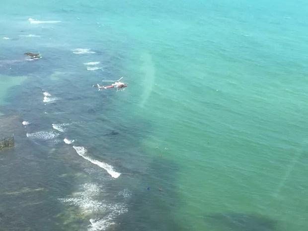 Menino chegou a ser retirado com vida da água, mas não resistiu (Foto: Divulgação/ SSP-AL)