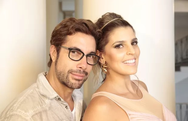 Fernando Torquatto faz selfie com Mari Paraíba no Copacabana Palace (Foto: Divulgação)
