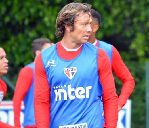 Lugano vai completar a marca de dois meses sem disputar uma partida (Foto: Érico Leonan / saopaulofc.net)