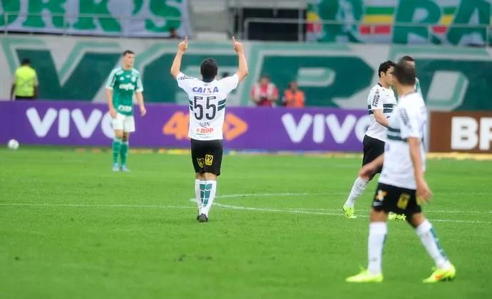 Palmeiras x Coritiba Juan (Foto: Marcos Ribolli)