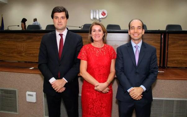 Pedro Maia, Ediene Lousado e Alexandre Cruz integram a lista tríplice eleita (Foto: Divulgação/MP-BA)