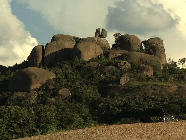 7 Maravilhas do Vale - Pedra Grande em Atibaia (Foto: Reprodução/TV Vanguarda)