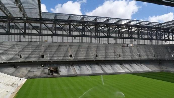 Arena da Baixada Atlético-PR 19 de fevereiro (Foto: Site oficial do Atlético-PR/Divulgação)