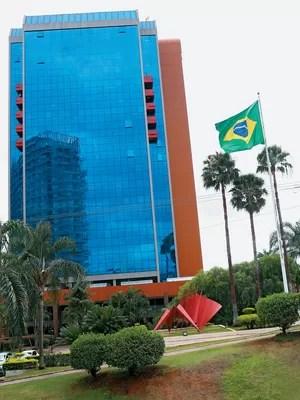 DESVIOS Prédio que abriga a Fundação Banco do Brasil, em Brasília... (Foto: Celso Junior/ÉPOCA)