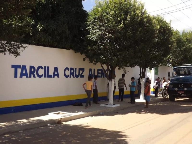 Caso ocorreu na escola Tarcila Cruz Alencar (Foto: Divulgação)