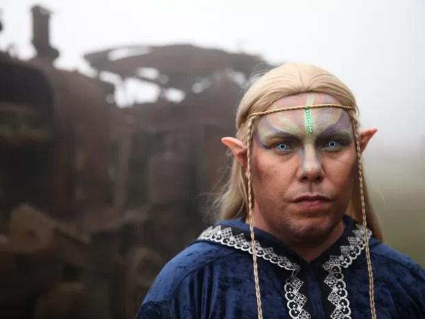 Elfos também fazem parte da convenção (Foto: Glauco Araújo/G1)