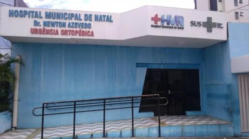 Atendimento no Hospital Municipal Dr. Newton Azevedo foi interrompido por três horas por falta de energia, nesta quinta-feira (9) — Foto: Geraldo Jerônimo/Inter TV Cabugi