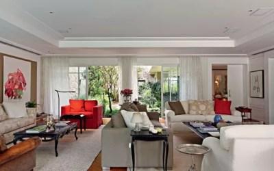 Décor do dia: simples vermelho e vintage Casa Vogue