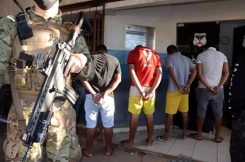 Detidos na Operação Manus Legis em RO — Foto: Gilmar de Jesus/Reprodução