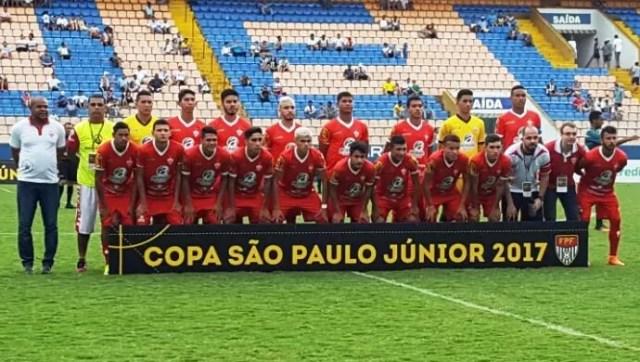 Rio Branco-AC Sub-20 Copa São Paulo 2017 (Foto: Arnaldo Moreira/Arquivo Pessoal)