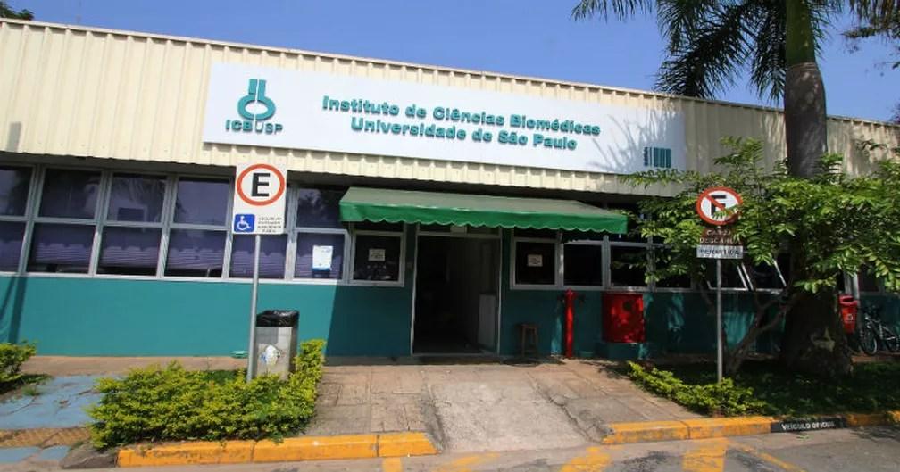 Prédio do Instituto de Ciências Biomédicas (ICB) no campus Cidade Universitária, em São Paulo  — Foto: Marcos Santos/USP Imagens