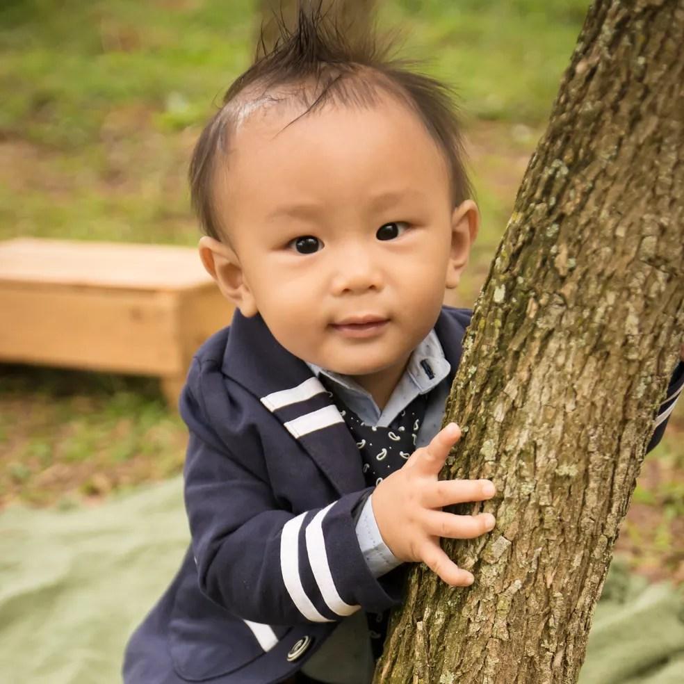Lucas é o filho mais novo de Viviane, de dez meses (Foto: Cláudia Oseki/ divulgação)