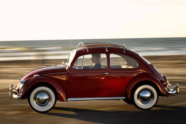 Fusca 1967 depois da restauração — Foto: Volkswagen/Divulgação