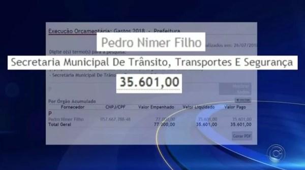 Um dos membros da JARI de Rio Preto (SP) chegou a receber mais de R$ 35 mil neste ano (Foto: Reprodução/TV TEM)